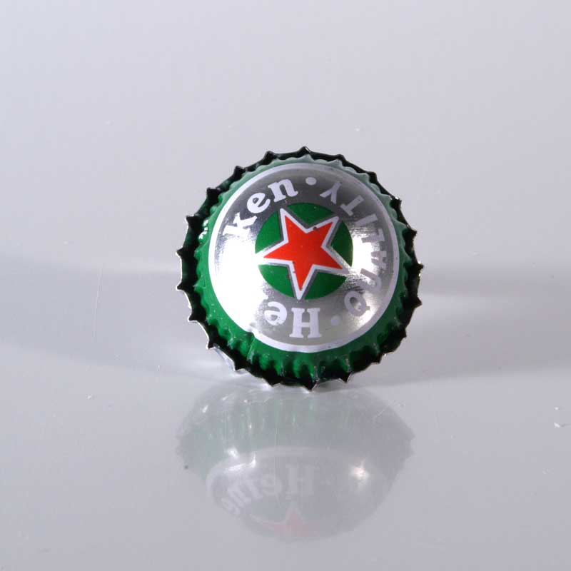 Kronkorken Upcycling, Kronkorkenring, Statement Ring, Unikat, Geschenk, Handgemacht, Kronkorkenschmuck, Heineken