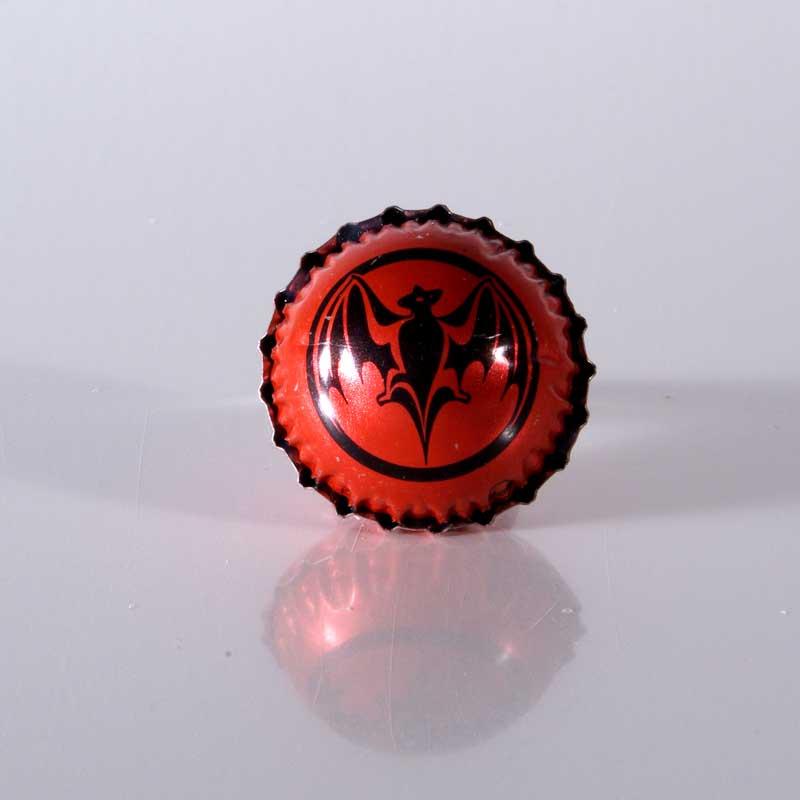 Kronkorken Upcycling, Kronkorkenring, Statement Ring, Unikat, Geschenk, Handgemacht, Kronkorkenschmuck, Vampir